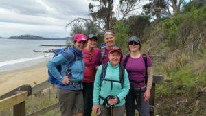 Marg and the Coast Trek team